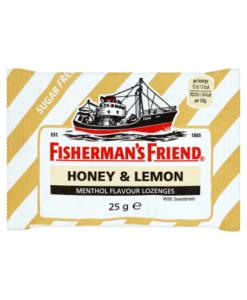 Fisherman's Friend Honey & Lemon Menthol Flavour Lozenges 25g